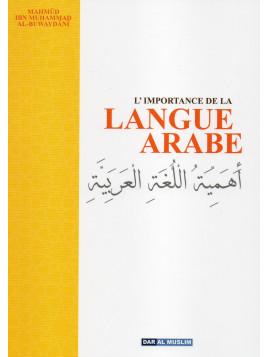 L'IMPORTANCE DE LA LANGUE ARABE