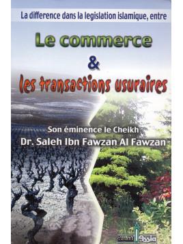 LE COMMERCE ET LES TRANSACTIONS USURAIRES