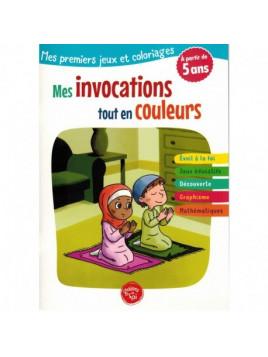 Mes premiers jeux et coloriages Mes invocations tout en couleurs- Edition Graines de foi