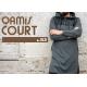 QAMIS COURT JILD GRIS ANTHRACITE QABA'IL