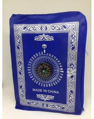 Tapis prière pocket Bleu