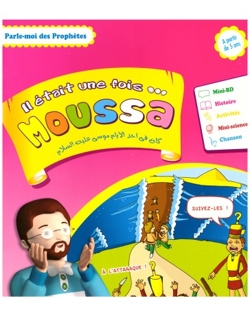 Il était une fois Moussa- Edition Sana