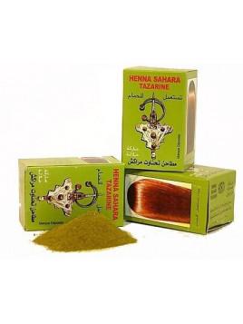 Hénné pour cheveux 100% Naturel Sahara Tazarine 100 gr net