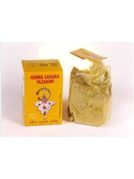 Henné pour peau et cheveux 100% Naturel Sahara Tazarine (100 gr Net)