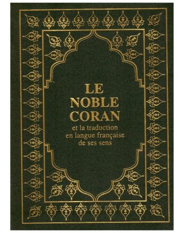 Le Noble Coran (poche) 13 x 17 cm - vert