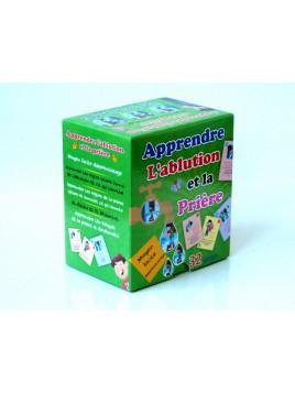 Apprendre l'ablution et la prière - 32 cartes - Edition Digital Future