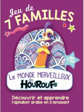 Jeu de 7 familles Le Monde Merveilleux des Houroufs - Sonia Tireche