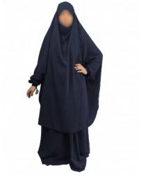 Jilbab 2 Pièces Jupes - Bleu Nuit 95 - Caviary - El Bassira