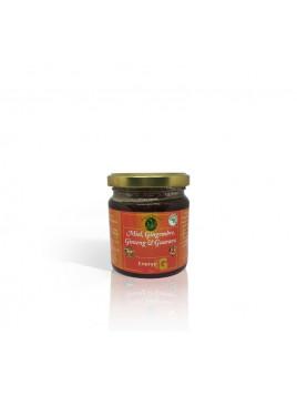 Miel, Gingembre, Ginseng et Guarana -250 gr - chifa