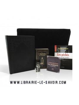 Coffret Cadeau Tapis / Coran noir