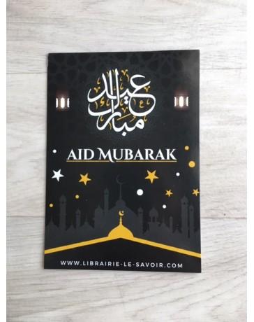 Carte Postale Aid Mubarak - Noir