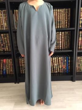 Abaya enfant - 23 gris clair - Wool Peach - El Bassira