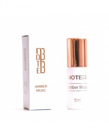 Extrait de Parfum Amber Musc 5ml - Note 33