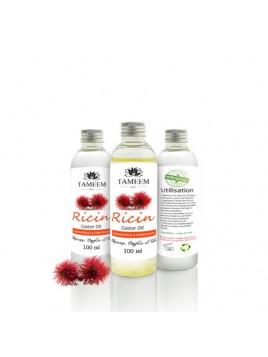 Huile de ricin 100% pure et naturelle - 100ml - Tameem