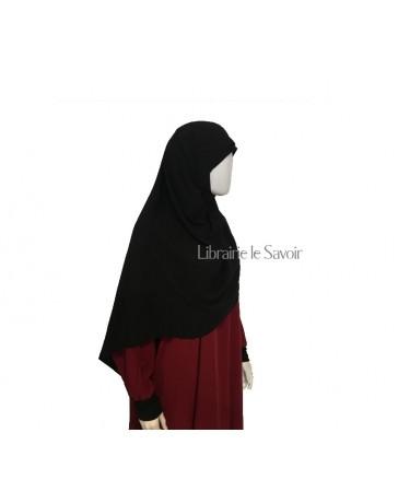 Hijab Soie de Médine - Noir